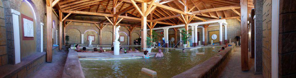 Sedací kúpeľ krytý bazén